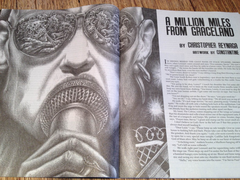 A Million Miles from Graceland Illustration - by Constantine